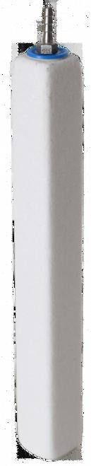 Ozone Compatible Fine Pore Rectangular Diffuser 12 x 1.5 x 1.5-in
