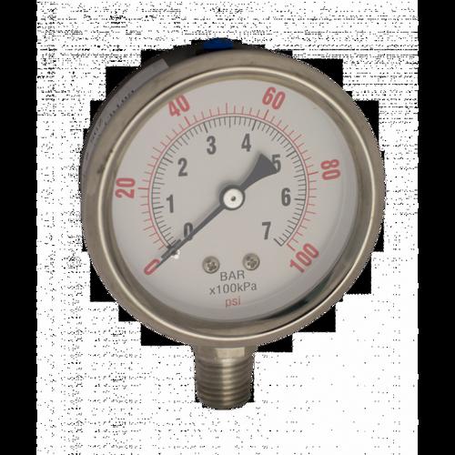 Ozone Compatible Pressure Gauge