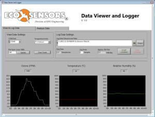 DL-SC3 : Ecosensors Data Logger and Software