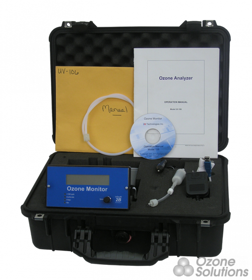 CUV-1 : Ozone Analyzer Carry Case