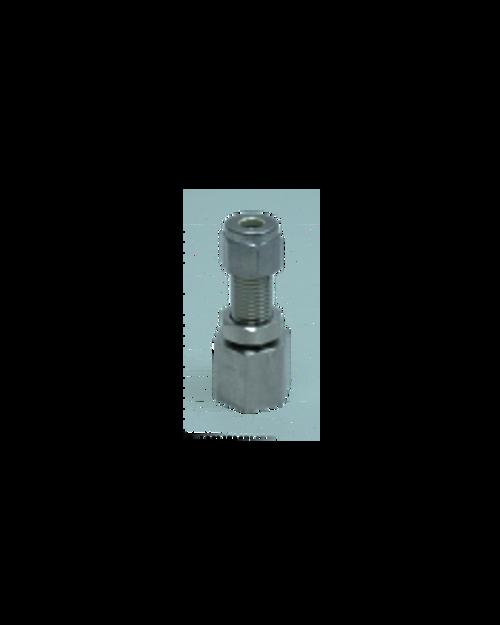 SC-BHF-4-4 : 1/4-in Comp x 1/4-in FNPT Bulkhead