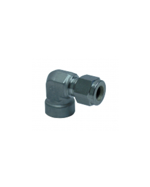 SC-FE-4-4 : 1/4-in Comp x 1/4-in FNPT Elbow