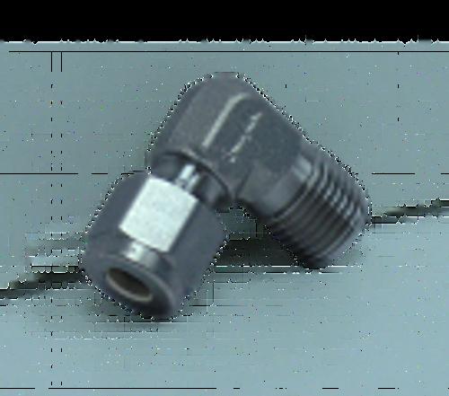 SC-ME-4-2 : 1/4-in Comp Elbow x 1/8-in MNPT