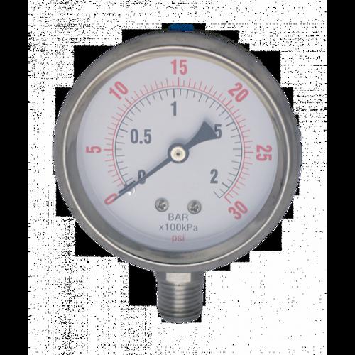 PG-SGZ-30-BM : Ozone Compatible Pressure Gauge