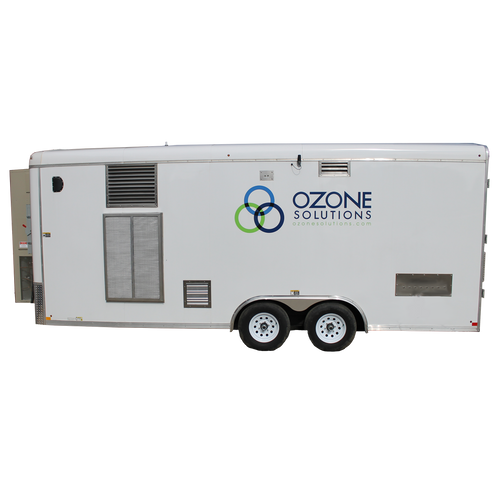 Ozone Remediation Trailer (RMT)-200 gram/hour