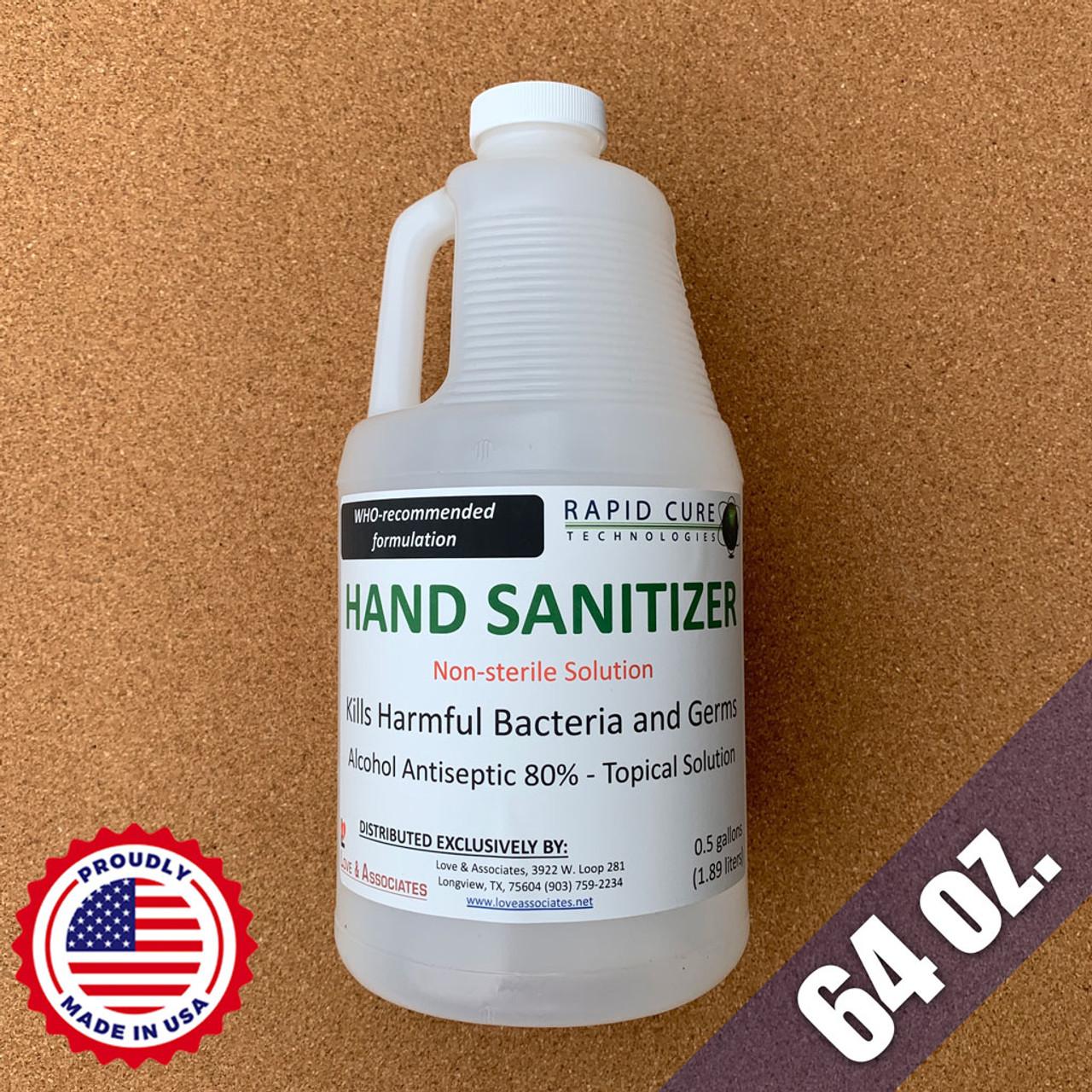 Liquid Hand Sanitizer (64oz)