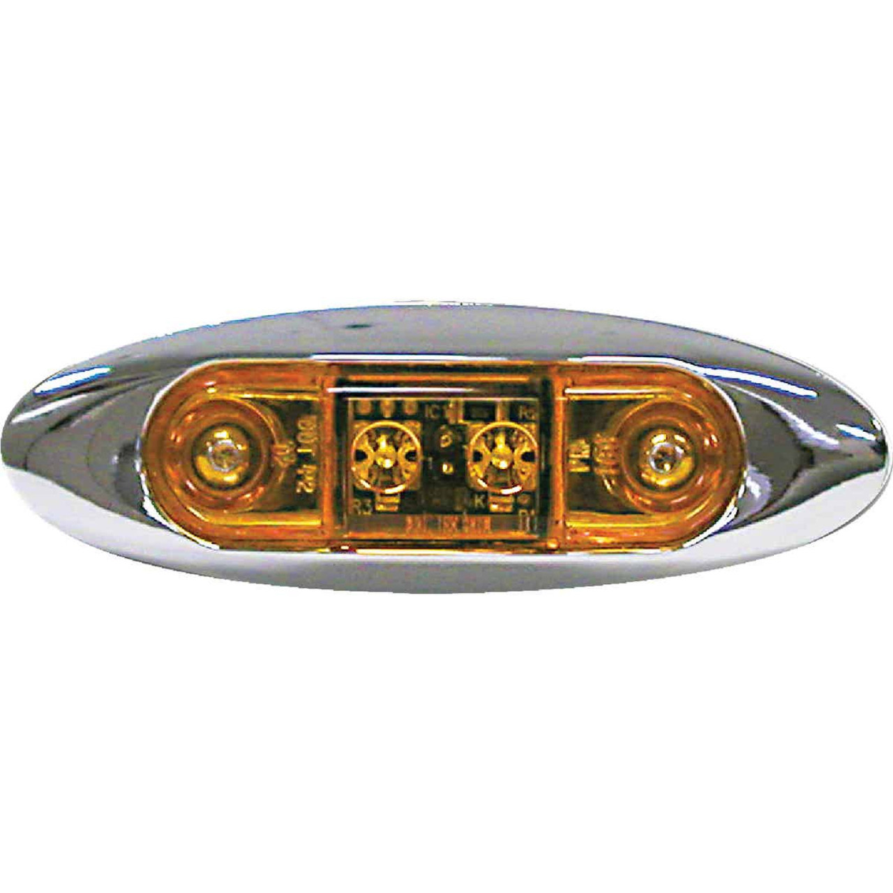 Peterson Rectangle 16 V. Amber Clearance Light