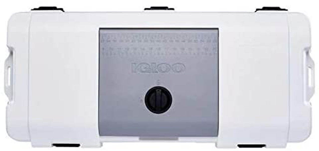 IGLOO MAXCOLD 165 QT Cooler, White
