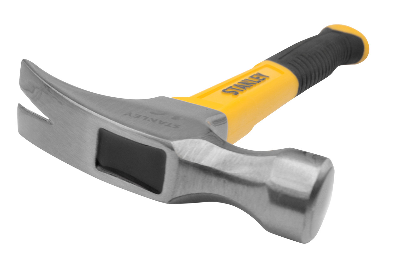 Stanley 16 Oz. Smooth-Face Rip Claw Hammer with Fiberglass Handle