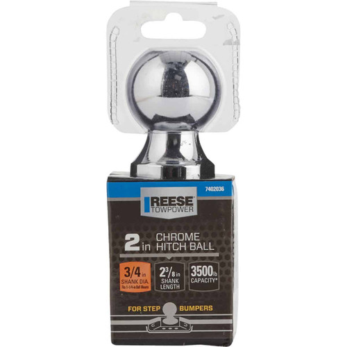 Reese Towpower 2 In. x 3/4 In. x 2-3/8 In. Hitch Ball
