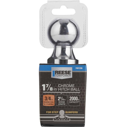 Reese Towpower 1-7/8 In. x 3/4 In. x 2-3/8 In. Hitch Ball