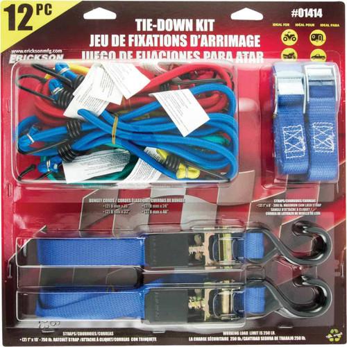 Erickson Assorted Tie-Down Set