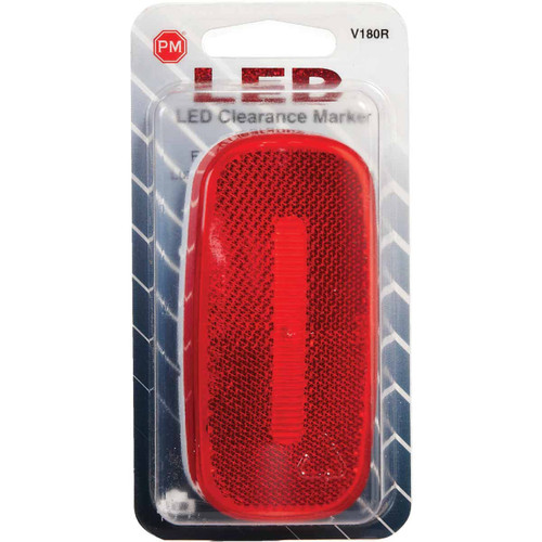 Peterson Oblong Red Clearance Light