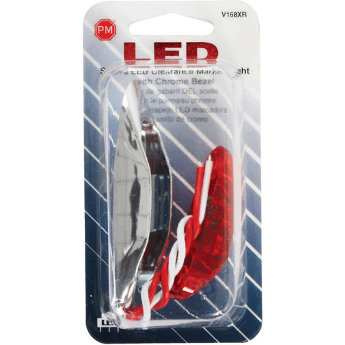 Peterson Rectangle 16 V. Red Clearance Light