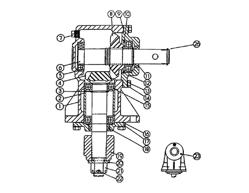 Gearbox 401-0007-01
