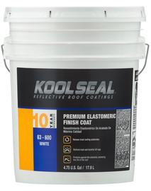 Kool Seal Premium Elastomeric 10 Year WHITE 4.75-Gallons