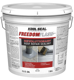 Kool Seal Freedom Flash Revolutionary Roof repair sealant