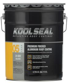 Kool Seal Premium Fibered Aluminum Roof Coating