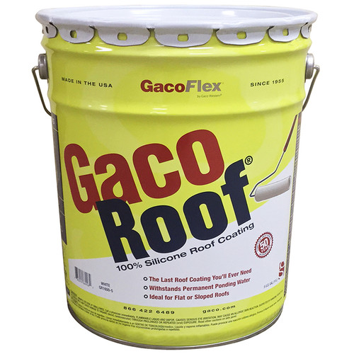 Gaco Roof 100% Silicone Roof Coating