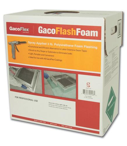 Gaco Flash Foam 3LB. low pressure spray foam