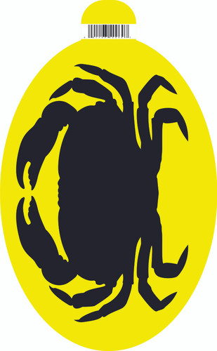 Patrick Bat Crab Sticker