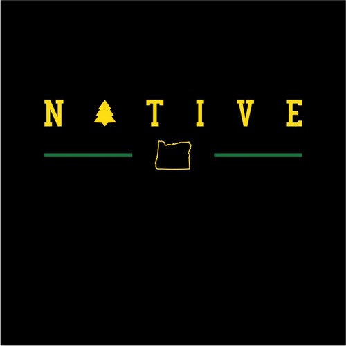 That Oregon Life Native Black Tee