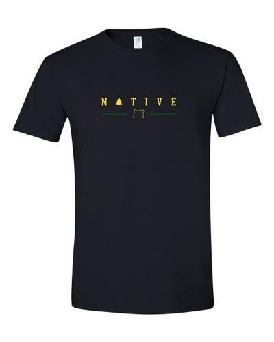 That Oregon Life Black Native Oregon shirt