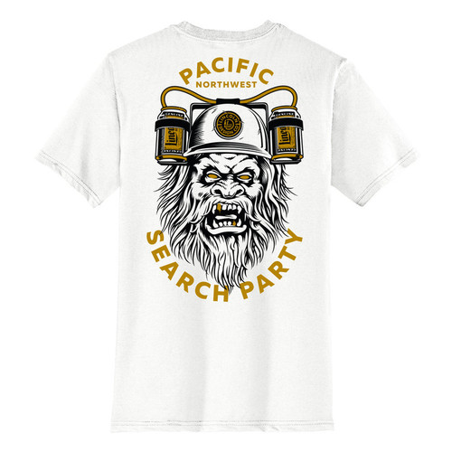 Lincoln Brand Co. T-shirt Search Party White