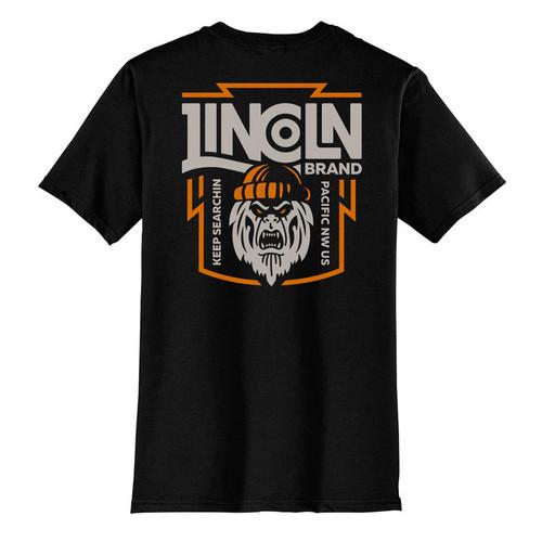Lincoln T-Shirt Keep Searching Black