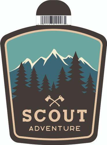 Scout Adventure Logo sticker