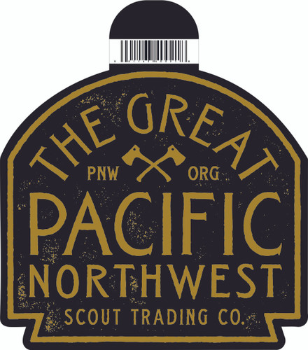 Scout Vintage PNW Logo Sticker