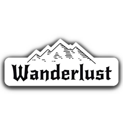 Wanderlust 2019 Sticker