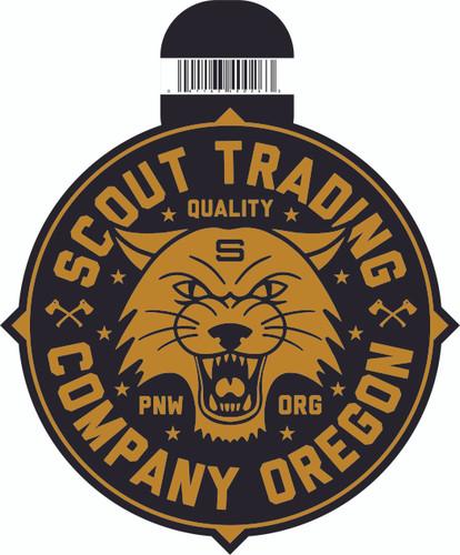 Scout Cat Logo Sticker