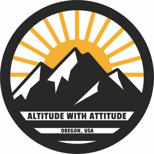 Scout Sticker Altitude with Attitude