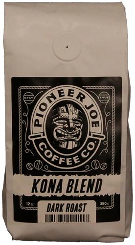 Pioneer Joe Coffee Co Kona Blend 12 oz