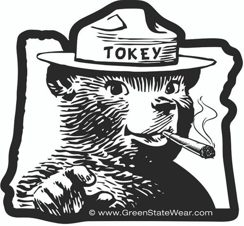 Green State Sticker Tokey Original