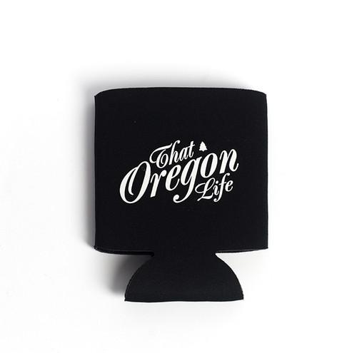That Oregon Life - Script Logo Can Koozie