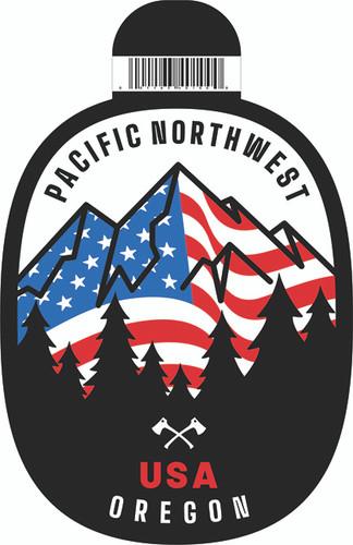 PNW USA Sticker