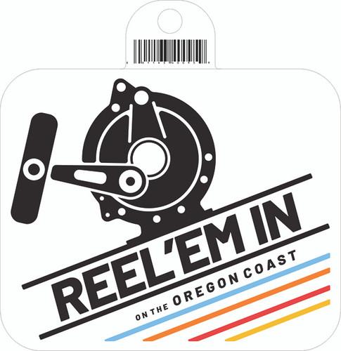 Reel Em' In Sticker