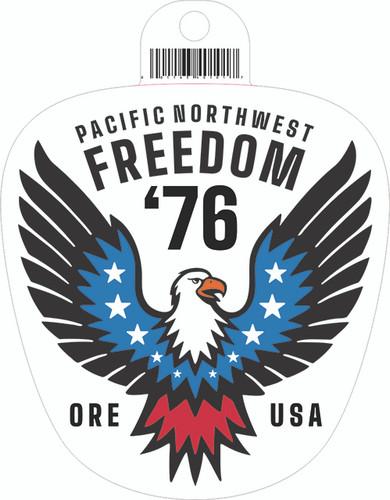 Freedom 76 Eagle Sticker