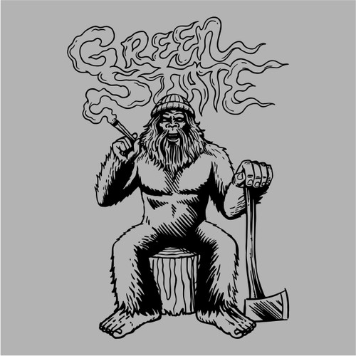 Green State T-shirt Sasquatch