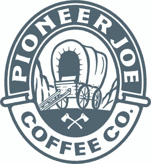 Scout Sticker Pioneer Joe Coffee