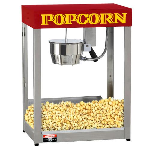 8 oz. Goldrush Popcorn Machine - with fire safety auto shut off