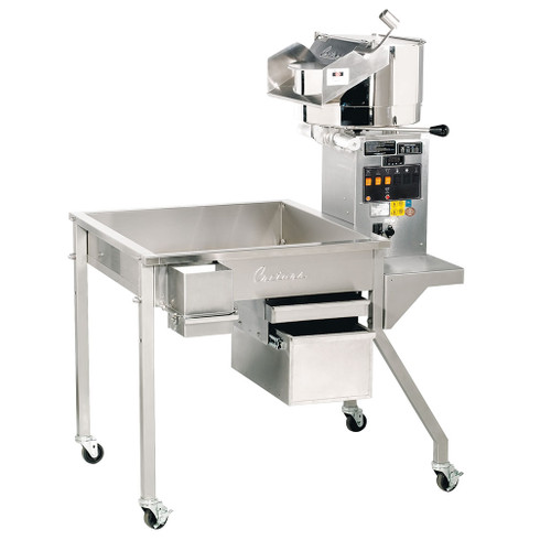 32 oz. Electric Giant Pedestal Popper on 3.5' Knock Down Table