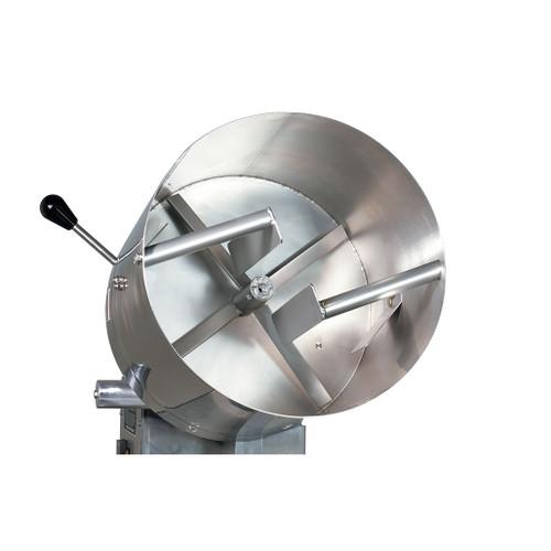 Caramelizer mixing baffels