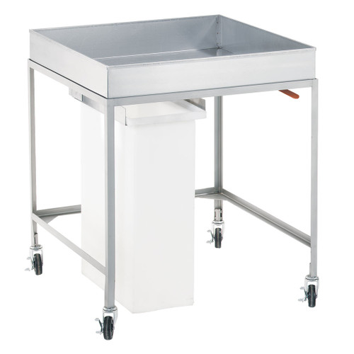 Cooling Cart with Removable Slide Out Bin