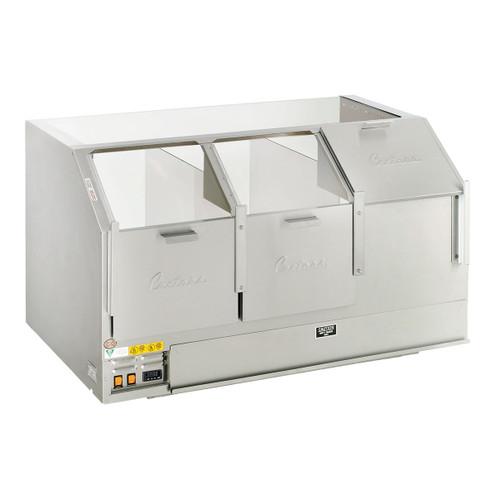 "48"" Counter Showcase Cornditioner Cabinet - Three Door"