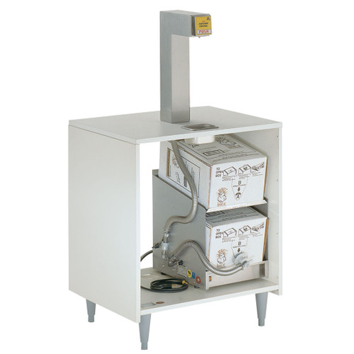 Bag-in-Box Topper Dispensing System - Liquid oils only - shown with cabinet not included