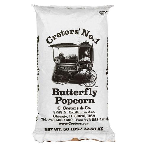 Large Butterfly Kernel Corn