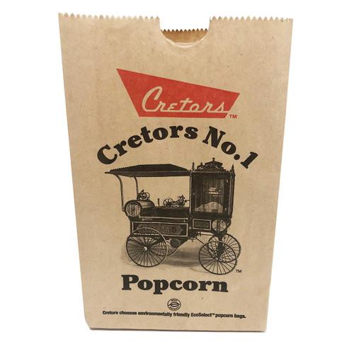 Cretors Logo Eco Bags / 1.5 OZ / 1000 CT
